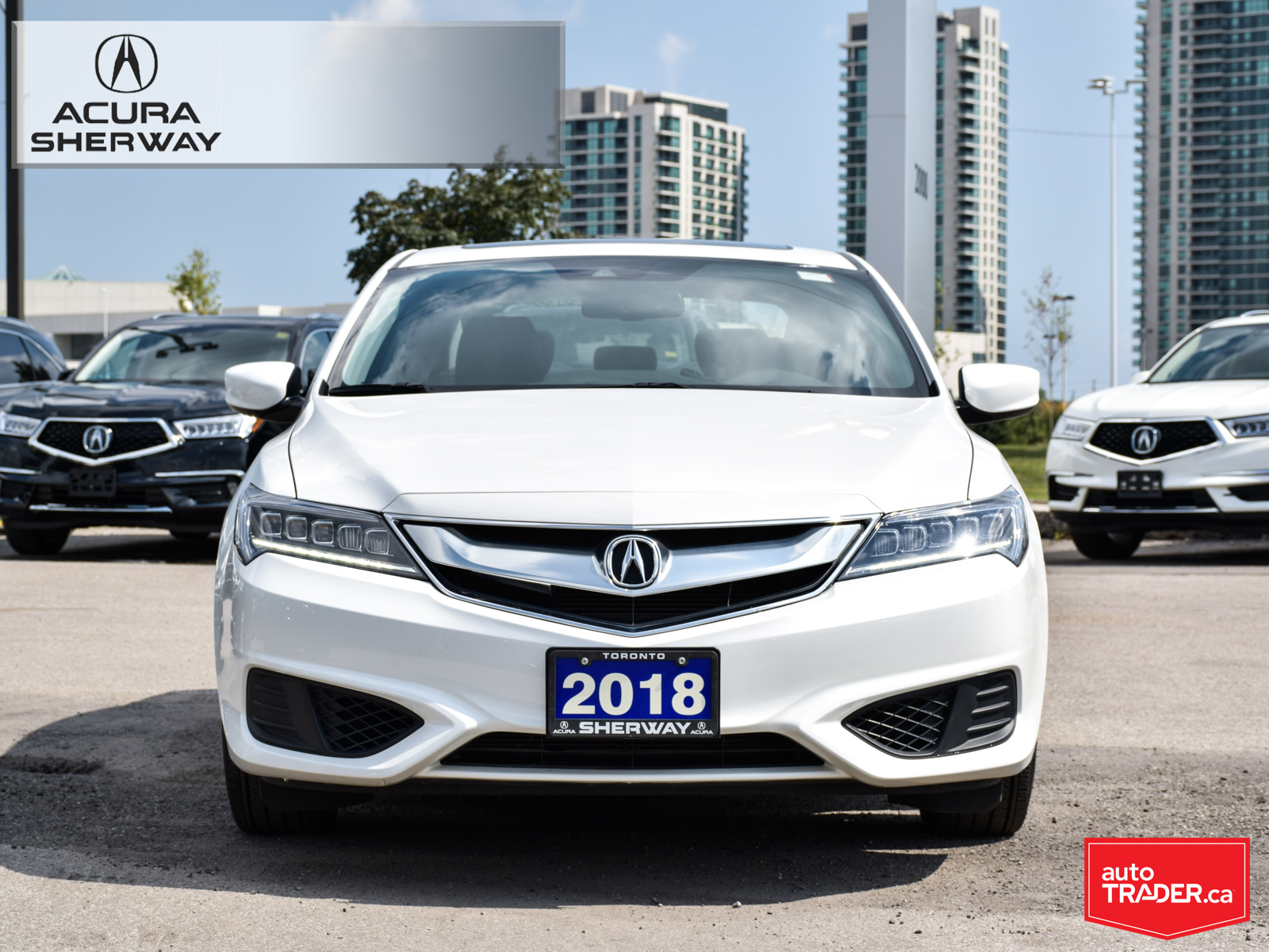 Certified Pre-Owned 2018 Acura ILX Premium 8DCT