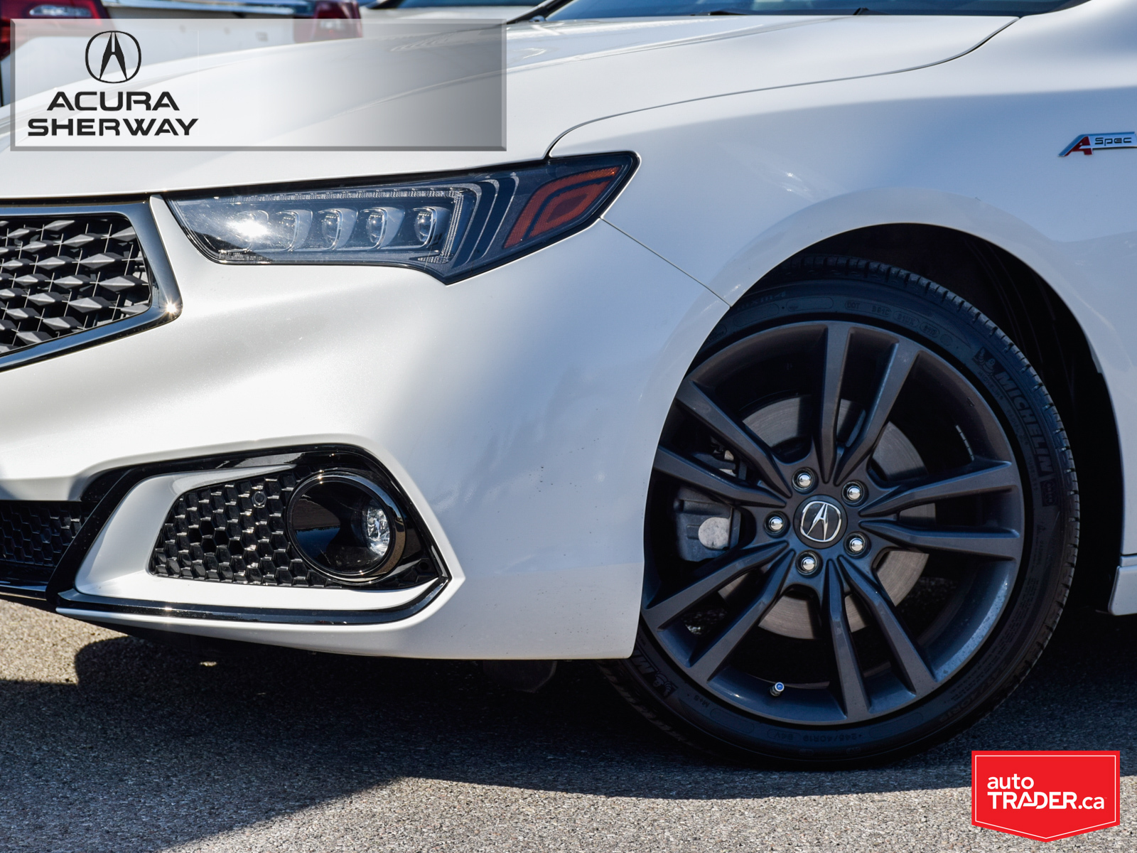 Certified Pre-Owned 2018 Acura TLX 2.4L P-AWS w/Tech Pkg A-Spec Red