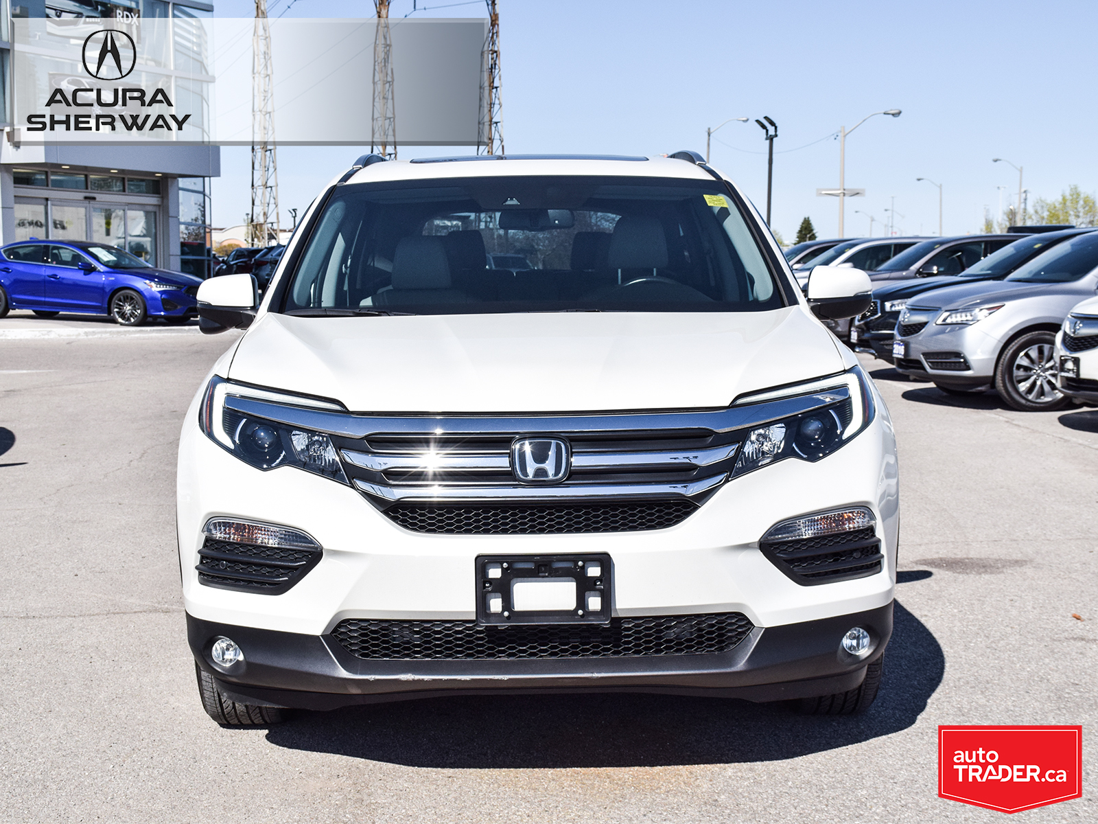 Pre-Owned 2016 Honda Pilot EX-L NAVI 6AT AWD