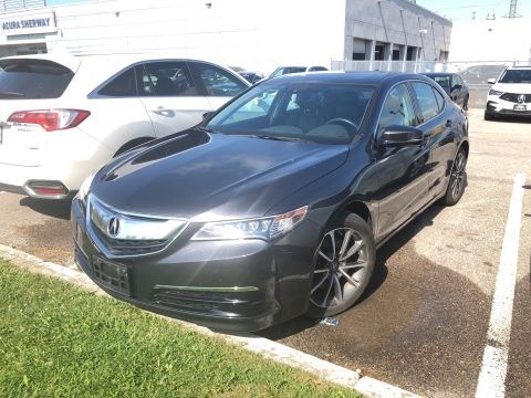 Certified Pre-Owned 2015 Acura TLX 3.5L SH-AWD w/Tech Pkg