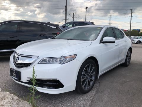 Certified Pre-Owned 2017 Acura TLX 3.5L SH-AWD w/Tech Pkg