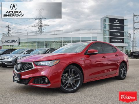 Certified Pre-Owned 2018 Acura TLX 3.5L SH-AWD w/Tech Pkg A-Spec