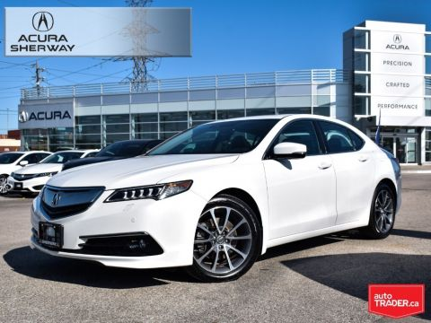 Certified Pre-Owned 2015 Acura TLX 3.5L SH-AWD w/Elite Pkg