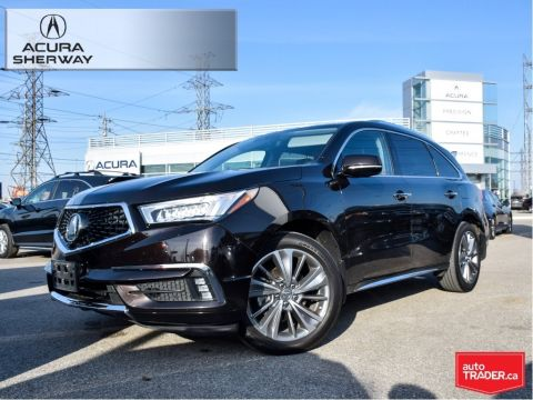 Certified Pre-Owned 2017 Acura MDX 6P at Elite