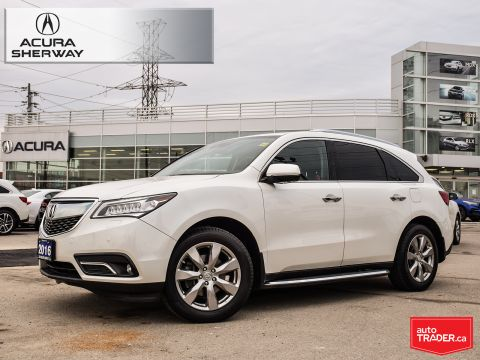 Certified Pre-Owned 2016 Acura MDX Elite