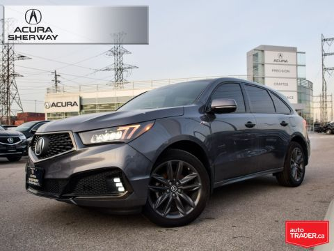 Certified Pre-Owned 2019 Acura MDX A-Spec